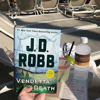 Vendetta in Death: An Eve Dallas Novel In Death Book 49 Hardcover by J. D. Robb
