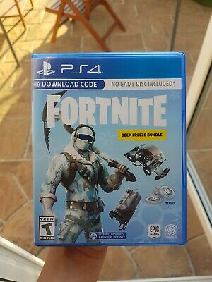 PS4 Fornite Deep Freeze Bundle ONLY WORKS ON U.S ACCOUNTS