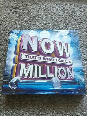 Now That's What i Call a Million (3x CD 2017 Blue) New & Sealed