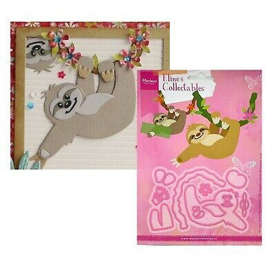 Sloth Metal Die Cut Eline's Marianne Animals,Zoo Cutting Dies COL1471