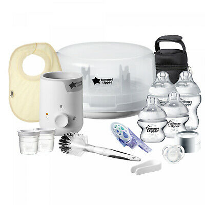 Tommee Tippee Closer to Nature Complete Newborn Feeding Gift Set
