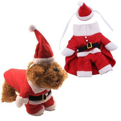 Christmas Dog Clothes for Dogs Chihuahua Winter Dog Costume Pet Clothes 2019