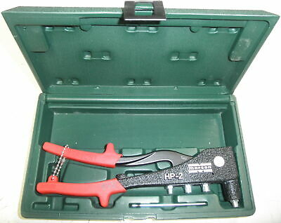 Marson Rivet Tool With Case 39001 HP2 5120-01-289-4310 No Rivets