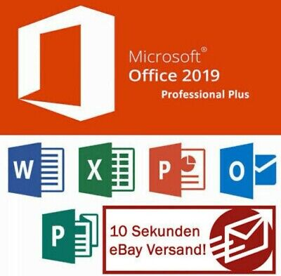 Microsoft Office 2019 Professional Plus MS PRO Plus Key 32/64bit  INSTANT
