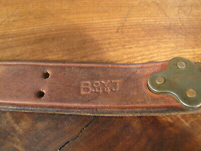WWII Leather M1907 M1 GARAND 03 SPRINGFIELD BOYT 44. (ONE HALF OF RIFLE SLING!!)