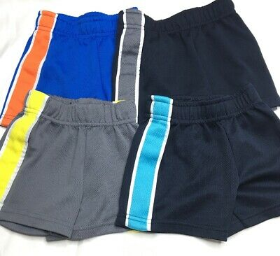 Garanimals Boys Infant Athletic Shorts Size 12 Months 4 pair
