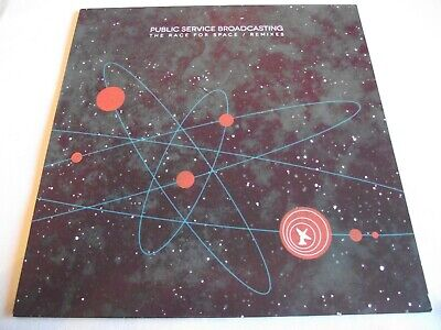Public Service Broadcasting ~ The Race For Space / Remixes ** 2016 Test Card Lp