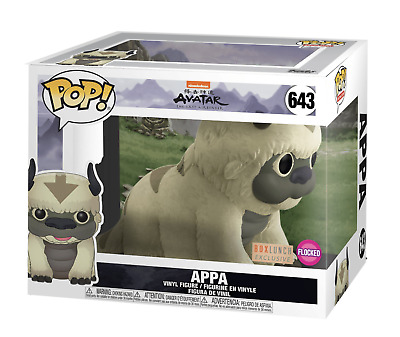 Funko Pop Animation #643 Flocked Appa Avatar Last Airbender Box Lunch Exclusive