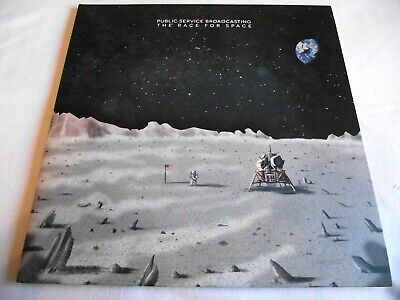 PUBLIC SERVICE BROADCASTING ~ THE RACE FOR SPACE ** 2015 TEST CARD LP w/ BOOKLET
