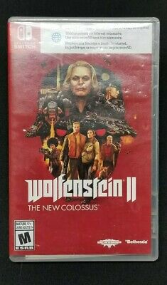 Wolfenstein II 2 The New Colossus (Nintendo Switch) Tested.