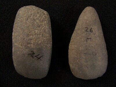 Two Authentic Hardstone Celts Form Shelby County, Kentucky