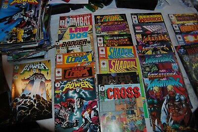 HUGE Lot of 107 Mostly INDEPENDENT Comic Books Will Power Nameless Harbinger