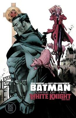 Batman Curse Of The White Knight #3 (Of 8) Cover A Murphy Pre-Sale 9/25/19 NM