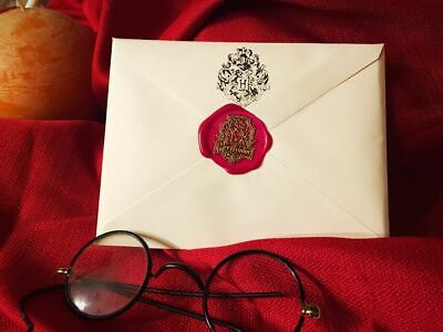 Gryffindor House Acceptance Letter from Hogwarts - Handwritten & Personalized