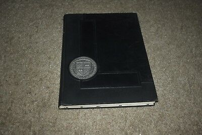 St Lawrence University 1934 yearbook Canton NY Gridiron