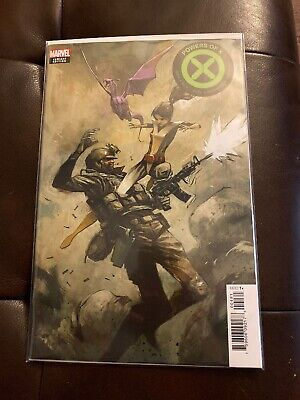 Powers of X 4 House of X 5 Mike Huddleston 1:10 Incentive Variants NM Marvel