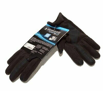 ISOTONER SmarTouch Touchscreen Compatible Gloves 700M1 Black M Medium NEW w' Tag
