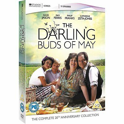 The Darling Buds of May - Complete Collection New DVD Box Set / Free Delivery