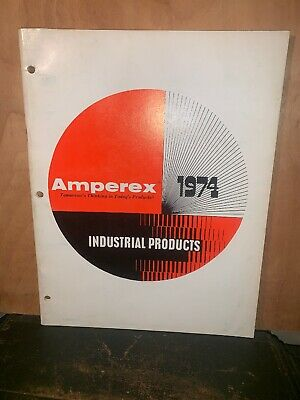 Amperex Industrial products catalog 1974