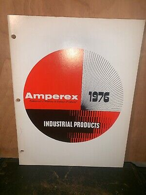 Amperex Industrial products catalog 1976