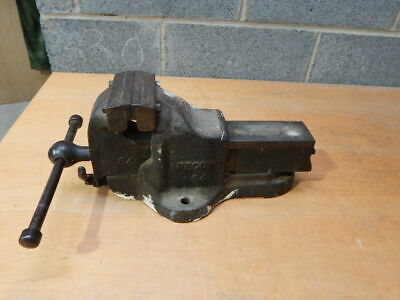 "Record No 84 QUICK RELEASE BENCH VICE 4 1/2"" ~ ENGINEERS / FITTERS"