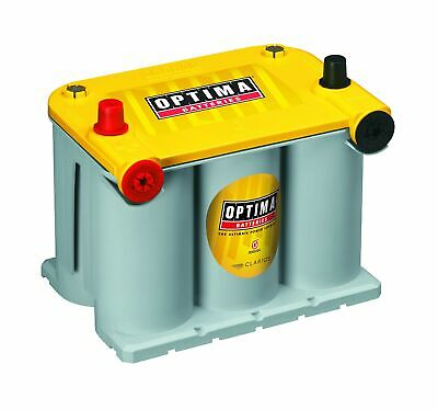 Optima Dual Purpose Battery Yellow Top 12 Volt 48 Amp Car Truck Accessory Part