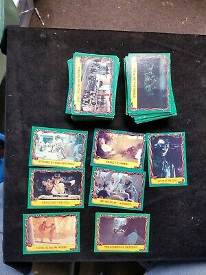 120 1981 INDIANA JONES Assorted Movie Non-Sport Trading Cards