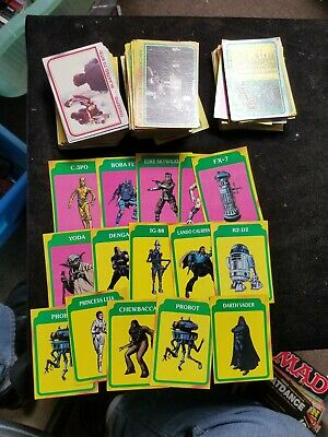 200 + 1980 STAR WARS EMPIRE STRIKES BACK Assorted Movie Non-Sport Trading Cards