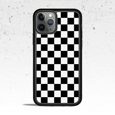 Black & White Checkered Phone Case for Apple iPhone Samsung Galaxy S & Note
