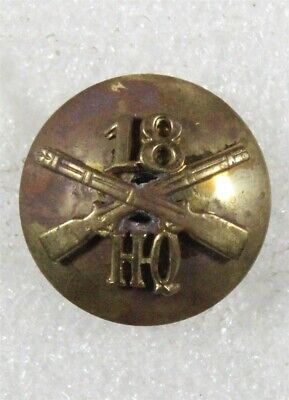 Army Enlisted Collar Disc: HQ Co., 18th Infantry Regiment, 1st Division