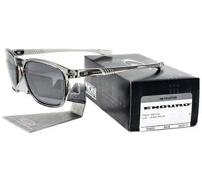Oakley OO 9223-12 Enduro Grey Ink Collection w/ Black Iridium Mens Sunglasses .