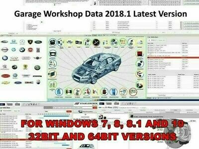 ✔️ Pro Workshop Garage Repair Software Database ✔️ (Instant Download)