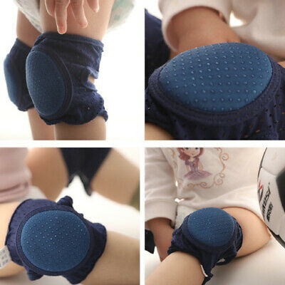 1 Pair Anti-Fall Knee Mesh Children Kids Knee Pads Can Adjust For Baby Crawling