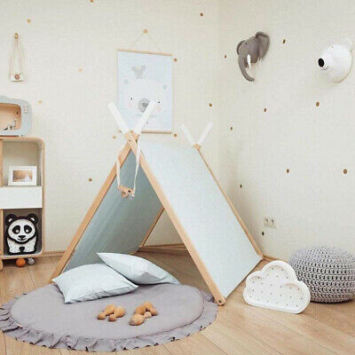 Round Baby Play Mat Cotton Carpet Props Accessories Infant Kids Room Decoration
