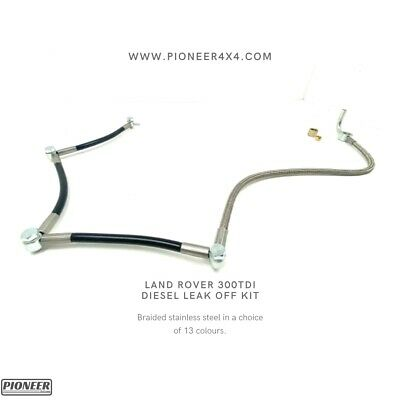 Land Rover Discovery 300 tdi Diesel Leak Off Pipe Kit