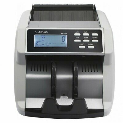 Olympia Banknote Counter Nc 560 Value with uv /MG / MT Test and LCD Display