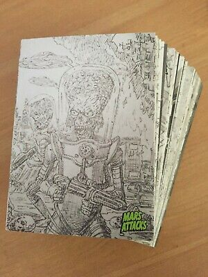 2015 Topps Mars Attacks Occupation CONCEPT PARALLEL SET - All 45 Cards
