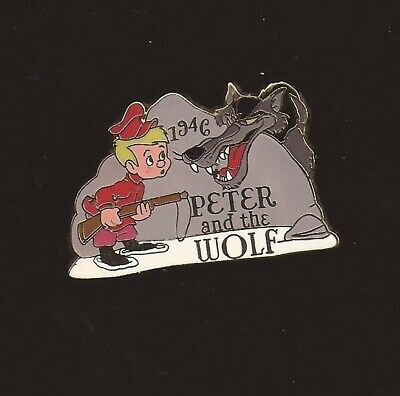 Disney 100 Years Of Dreams Peter And The Wolf Pin New On Card