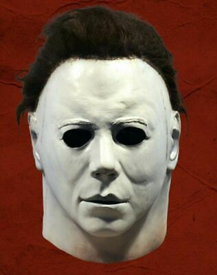 Deluxe Michael Myers Trick or Treat Halloween Adult Latex Full Head Mask USA