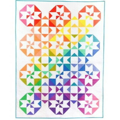 Michael Miller Sew Colorful KIT0193 Color Wheel Quilt Kit