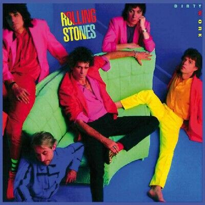 The Rolling Stones - Dirty Work (2009 Remastered) - UnKnown 2701564 - (CD / Tit