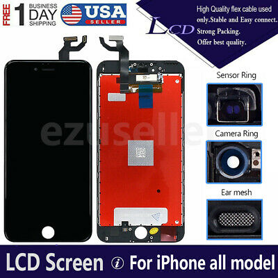 For iPhone 6s 6 7 8 Plus LCD Display Touch Screen Replacement Digitizer Assembly