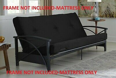 Futon Mattress  Guest Spare Room Sofa Bed Full Size Couch Comfortable
