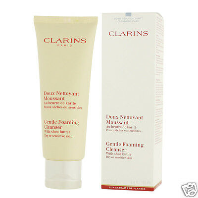 Clarins Gentle Foaming Cleanser With Shea Butter 125 ml