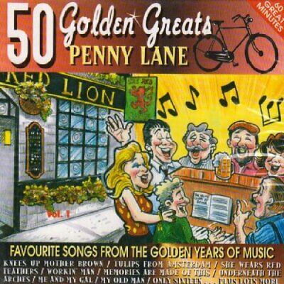 Penny Lane - 50 Golden Greats - Penny Lane CD SEVG The Cheap Fast Free Post The