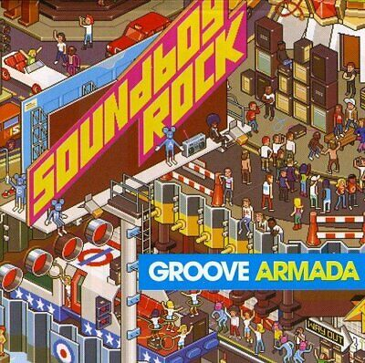 Groove Armada - Soundboy Rock - Groove Armada CD VAVG The Cheap Fast Free Post