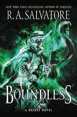 Boundless by R.A. Salvatore (English) Paperback Book Free Shipping!