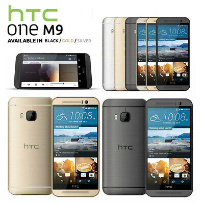 New&Sealed Factory Unlocked HTC One M9 Black Gold Silver 32GB Android Phone UK