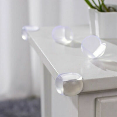 10pcs Silicone Table Corner Protector Baby Drawer Cabinet Corner Safety Cushions