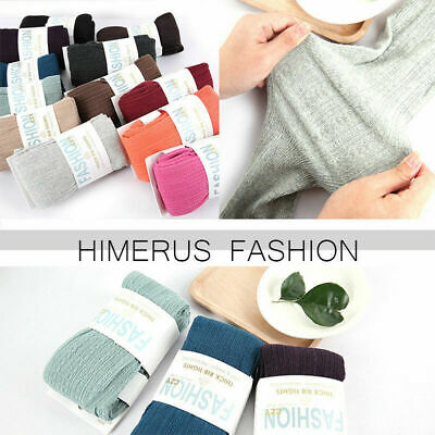 Women Winter Cable Knit Sweater Footed Tight Warm Stretch Stocking Pantyhose Sy